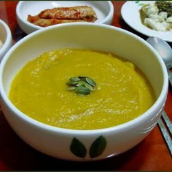 Korean Pumpkin Soup recipe