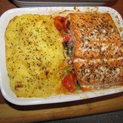 Garden Patch Salmon Dinner recipe