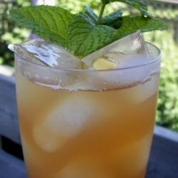 Apple Ginger Mint Iced Tea recipe