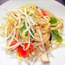 Asian Chicken Pasta Salad recipe