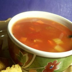 Vegetable Soup (Canning) recipe
