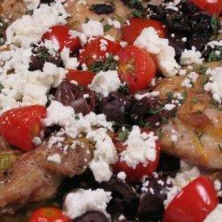 Greek Style Chicken Thighs recipe