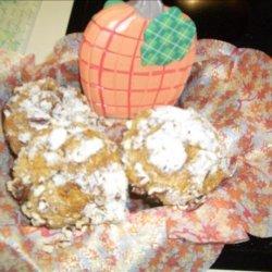 Pumpkin Muffins With Struessel Topping recipe