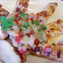Grilled Southwestern Chicken With Pineapple Salsa recipe