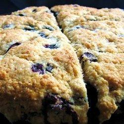 Diabetic Blueberry Scones recipe