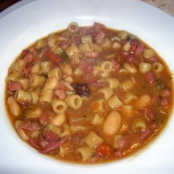 Mix and Match Pasta and Bean Soup recipe