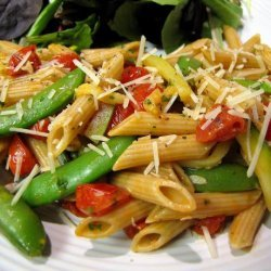 Summer Veggie Pasta Salad recipe