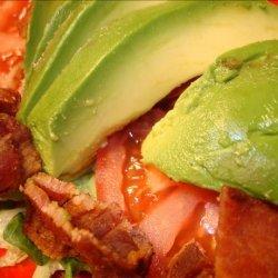Bacon Tomato and Avocado Salad recipe
