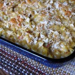 Chipotle Chicken Pasta  Bake recipe
