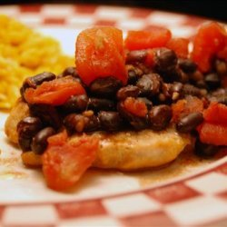 Turkey Cutlets With Smoky Black Bean Sauce recipe