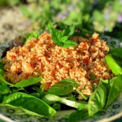 Tomato and Basil Couscous Salad recipe