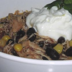 Slow Cooker Chicken and Corn Chili recipe
