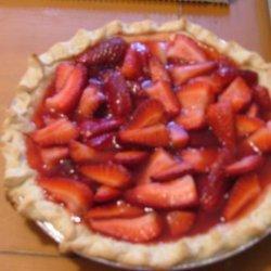 Easy Strawberry Pie With Pizazz recipe
