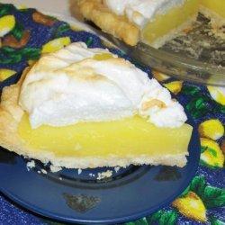 Lemon Meringue Pie (9-Inch) recipe