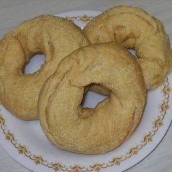 Cornmeal Bagels recipe