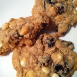 Dried Cherry and White Chocolate Oatmeal Cookies recipe