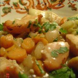 Chicken and Artichoke Stew recipe