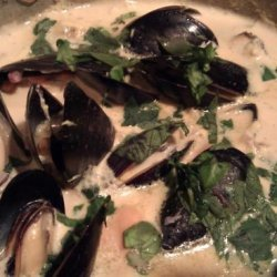 Creamy Mussel Soup recipe