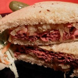 Ww 6 Points - Roast Beef Sandwiches With Caramelized Onions recipe
