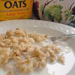 Porridge With Apples recipe