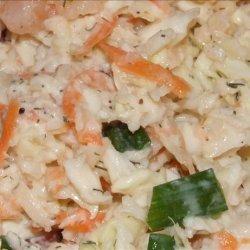 Low Fat Shrimp or Crab Coleslaw recipe