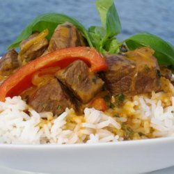 Red Curried Lamb recipe