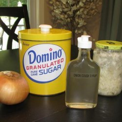 Onion Syrup Cough & Cold Remedy recipe