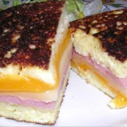 Wisconsin Monte Cristo Sandwich recipe