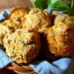 Savory Cheese Muffins recipe