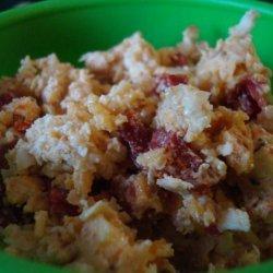 Smokey Cheddar and Sun Dried Tomato Spread recipe