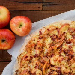 Cheddar Apple Pizza recipe