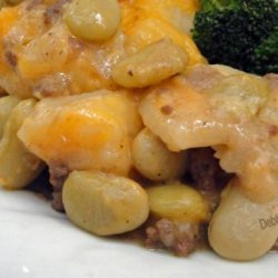 Ground Beef Au Gratin Potatoes With Vegetables recipe