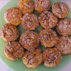 Pumpkin Custard Streusel Muffins recipe