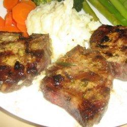 Herb Grilled Rib Lamb Chops recipe