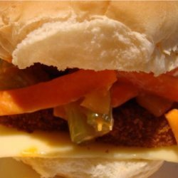 Spicy Buffalo Chicken Sandwiches recipe