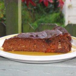 Gluten-Free Persimmon Pecan Cake recipe