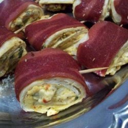 Johnny Jalapeno's Mexican Bacon and Cheese Hors D'oeuvres recipe