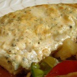 Gorgonzola Halibut recipe