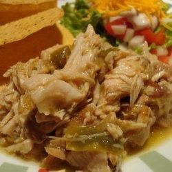Chili Verde Pork  in a Crock Pot recipe