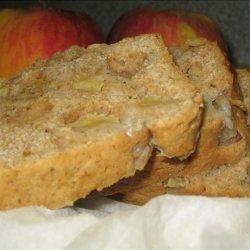 Lower Fat Apple Bread recipe