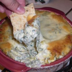 Ilene's Hot Spinach and Artichoke Dip recipe