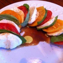Mozzarella Tomato and Basil Salad recipe