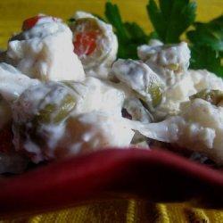 Cauliflower Olive Salad recipe