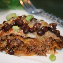 Taco Lasagne recipe