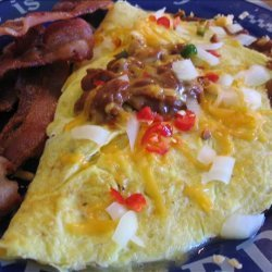 Dad's Chili Cheese Omelet recipe