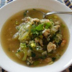 Canh Bau Tom - Vietnamese Opo Squash Soup recipe