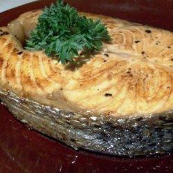 Grilled Marinated Salmon recipe
