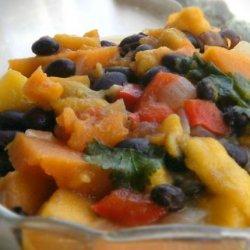 Mango and Black Bean Stew recipe