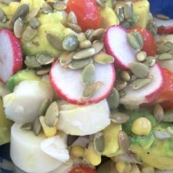 Mexican Avocado and Hearts of Palm Salad recipe