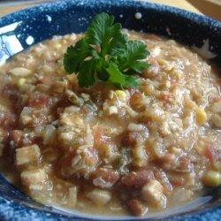 Mexican Black Bean Chicken Soup recipe